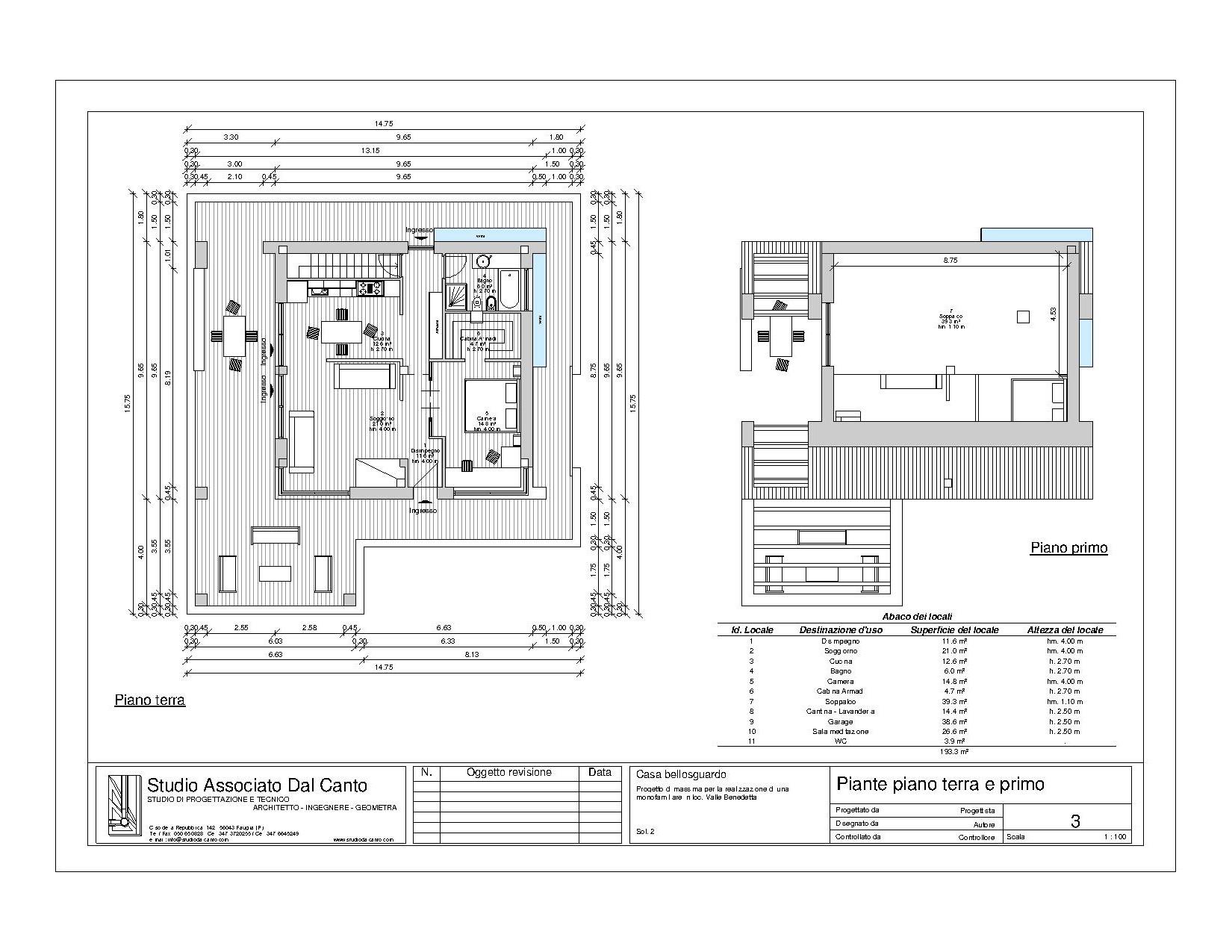 Progetto casa a due piani best villa su due piani con for Stampare piani di casa